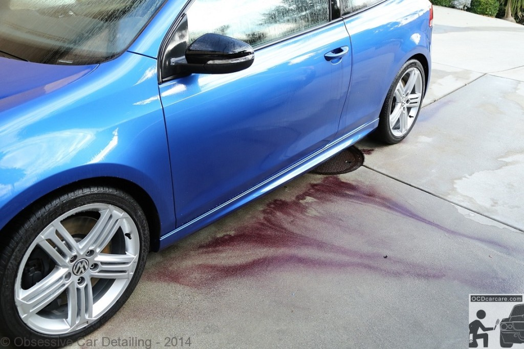 2012 Golf R - San Marino, Ca - Mobile Multi Phase Paint Correction Detail finished with a CQuartz Finest - Removing embedded metal with Iron X. - www.ocdcarcare.com - info@ocdcarcare.com - (949) 427-1191