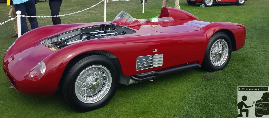 Its easy to see why the Maserati 150S was a favorite of snapshots on the lawn.. she's a rare beauty.