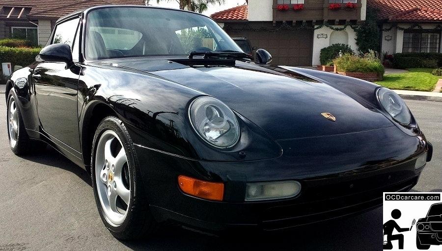 OCDCarCare.com - Detailing Pasadena Ca - 1995 Porsche Carrera - Passenger 3-4 - CQuartz FINEST
