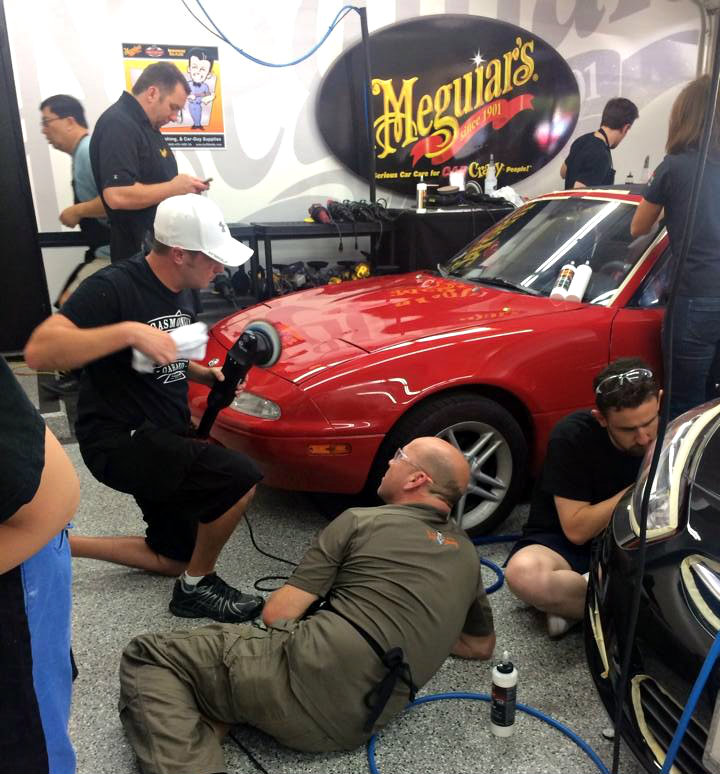 NXTWest 2015 - Detailing Training - Advanced Class Garage - Kevin Brown