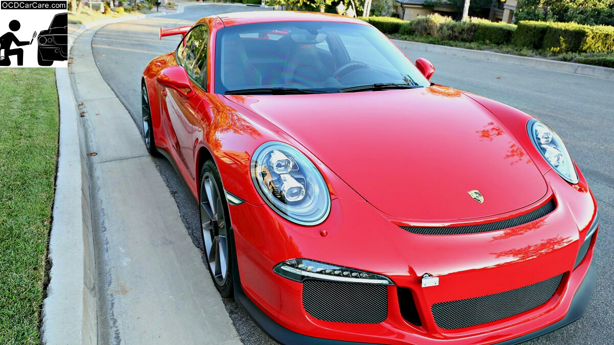 Porsche GT3 - CQuartz Finest Detailing in Los Angeles - Gloss, Clarity, Definition of Reflection
