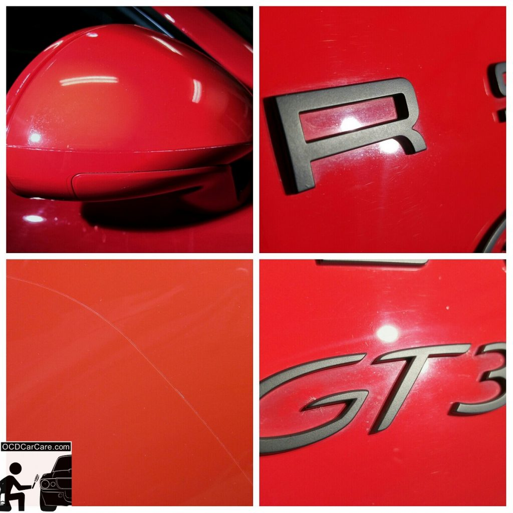 Porsche GT3 - CQuartz Finest Detailing in Los Angeles - Typical Neglected Areas - Detailing Training