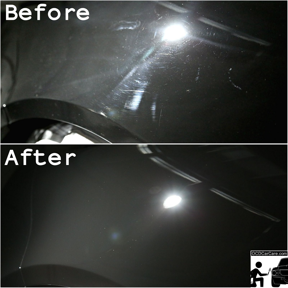 Removing paint defects via paint polishing increases a surface's ability to accurately reflect images.