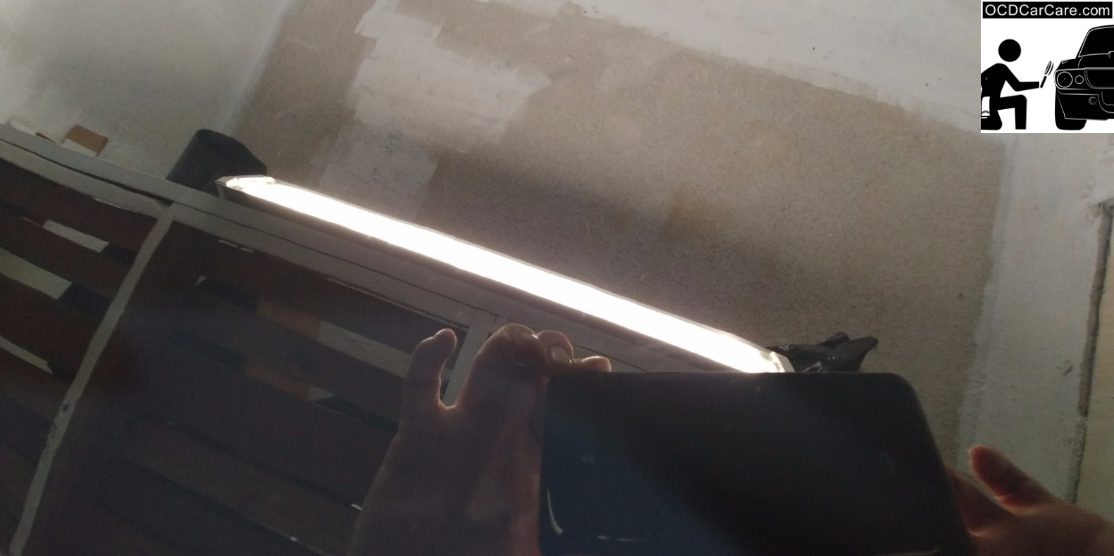 Fourth picture of FeynLab Self Heal Lite Nano Coating Fixing small scratches in Clear coat after paint correction detail by OCDCarCare Los Angeles