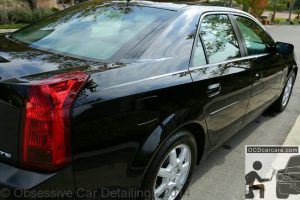 2006 Cadillac CTS - after full paint correction, swirl mark removal and type 2 hard water spot removal