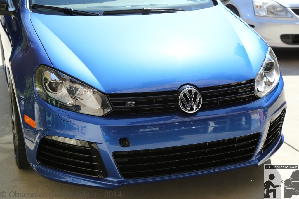 2012 Golf R - San Marino, Ca . - Multi Phase Paint Correction M100, M205 &CQuartz Finest- full service mobile detail in los angeles and orance county, ca. - www.ocdcarcare.com - info@ocdcarcare.com - (949) 427-1191