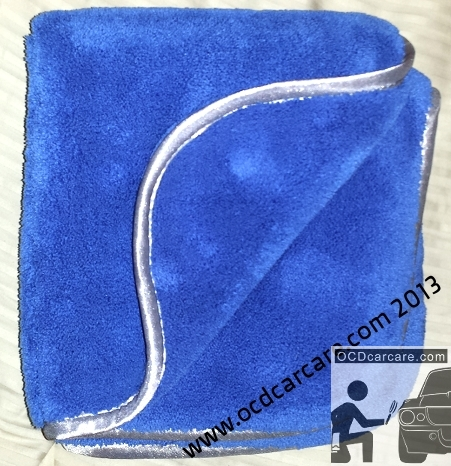 MIcrofiber high plusg pile:BEST for waterless wash, quick detailing, drying. - www.ocdcarcare.com