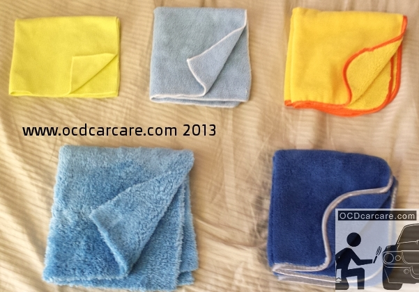 Selecting microfiber for auto detailing can depend on many factors.