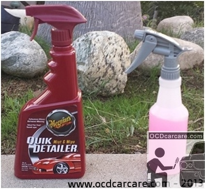 Quick Detailer Defined - role of quick detailer in car care, claying, auto detailing, and waterless wash. - www.ocdcarcare.com - info@ocdcarcare.com - (949) 427-1191