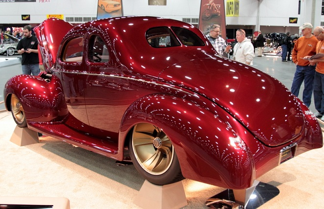 Checkered Past - 2013 Ridler Award Winner - Jason Killmer Wet Sand & Polish - Color Sanding & Buffing