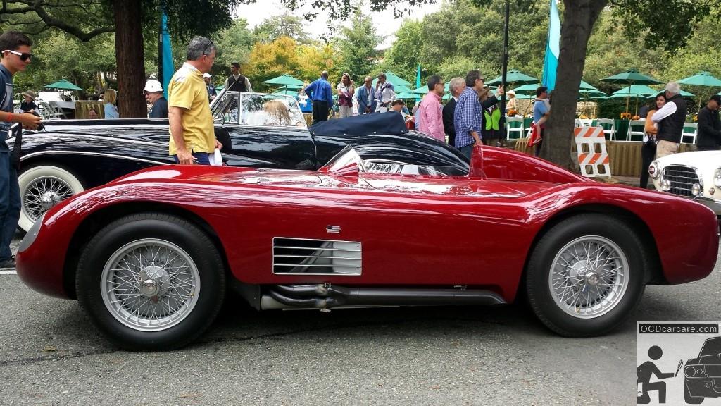 The 1956 Maserati 150S at the 2014 Tour d' Elegance. Detailing San Marino Ca,- www.ocdcarcare.com - (949) 427-1191 - info@ocdcarcare.com
