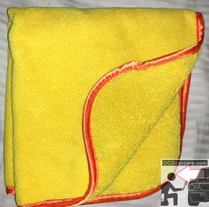 The Magic Of Microfiber - Medium Pile - Combo Cloth - microfiber types and uses - www.ocdcarcare.com