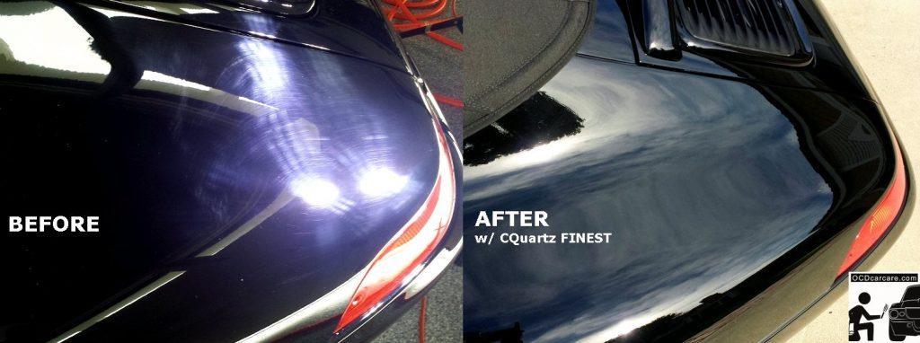 OCDCarCare.com - Detailing Pasadena 7 Los Angeles- Porsche 993 Carrera- Swirl Marks vs CQuartz FINEST