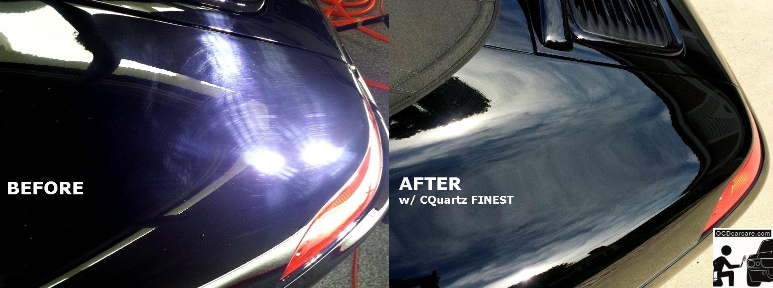 Porsche Carrera - Before & AFTER Paint Correction & CQuartz FINEST - Gloss & Clarity - Los Angeles detailer
