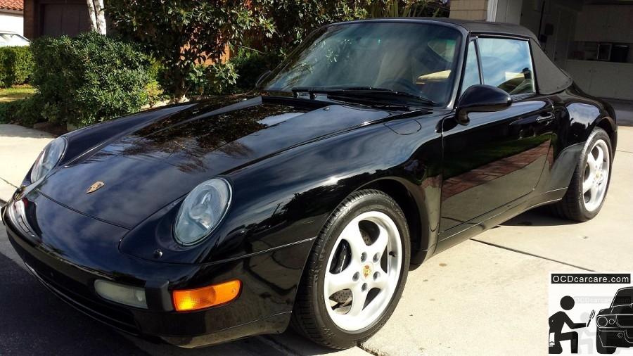OCDCarCare - Detailing Pasadena Ca - 1995 Porsche Carrera - Driver 3-4 - CQuartz Finest