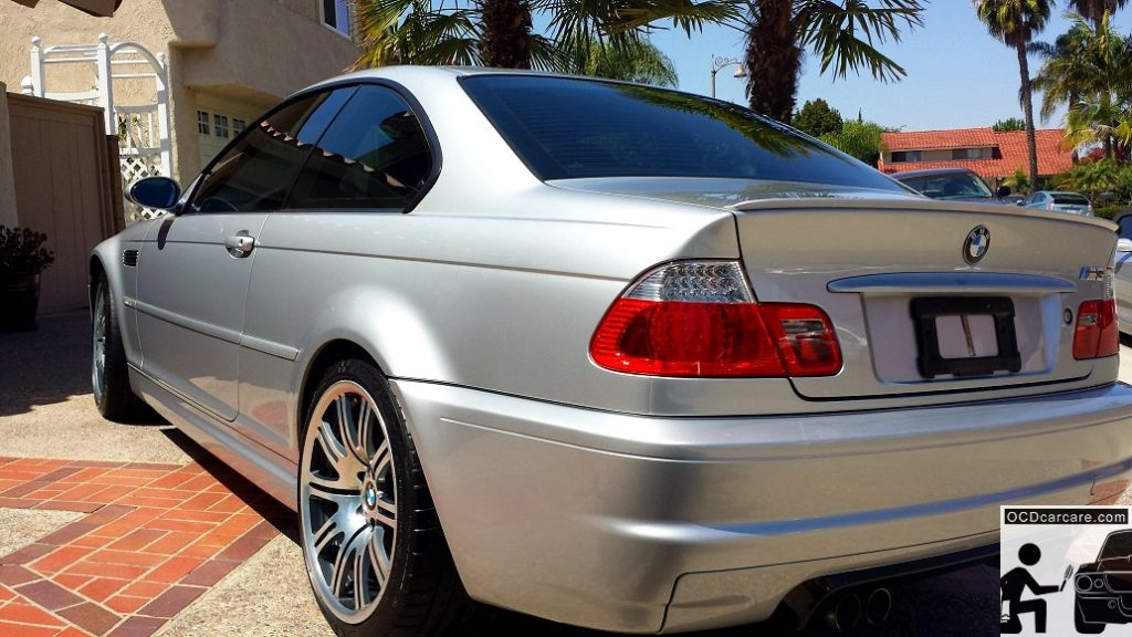BMW E46 - Full Paint Correction Detail & Cquartz FINEST - Tail Gloss