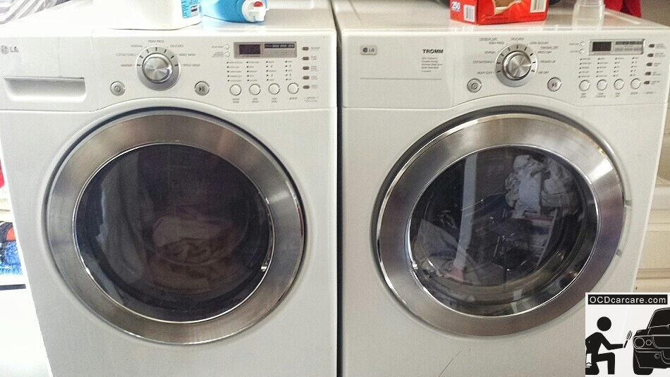 Washing Microfiber Towels for Detailing - High efficiency machines make cleaning a little more difficult.