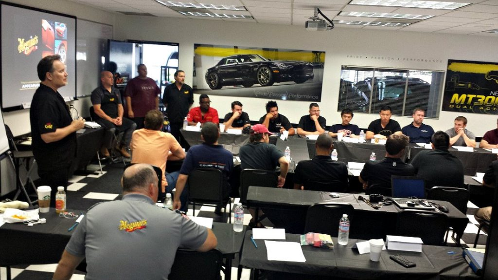NXTWest 2015 - Detailing Training - Kevin Brown - Clasroom training Buffdaddy.com