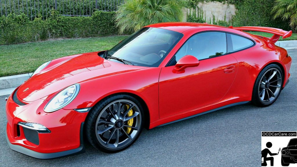 Porsche 911 GT3 Sporting Sophisticated Elegance with Paint Correction & CQuartz Finest Ceramic Coating.