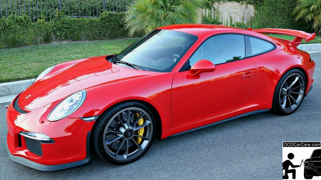 Porsche 911 GT3 Sporting Sophisticated Elegance with Paint Correction & CQuartz Finest Ceramic Coating.