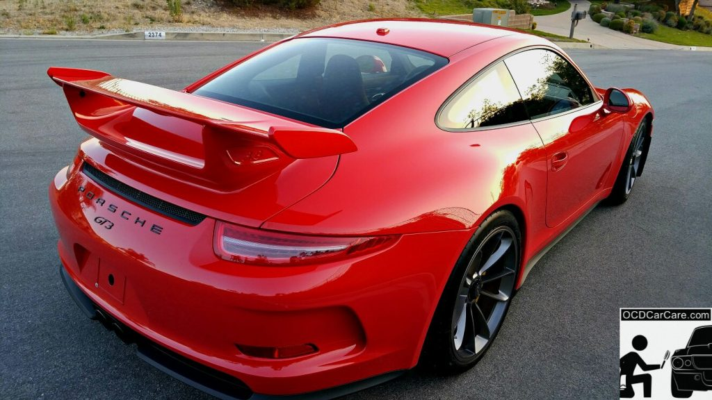 Porsche GT3 - CQuartz Finest Detailing in Los Angeles - Pristine Beauty