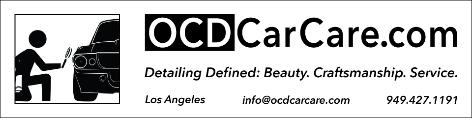 OCDCarCare Los Angeles - Best Detailer & Paint Correction Banner960x240px_