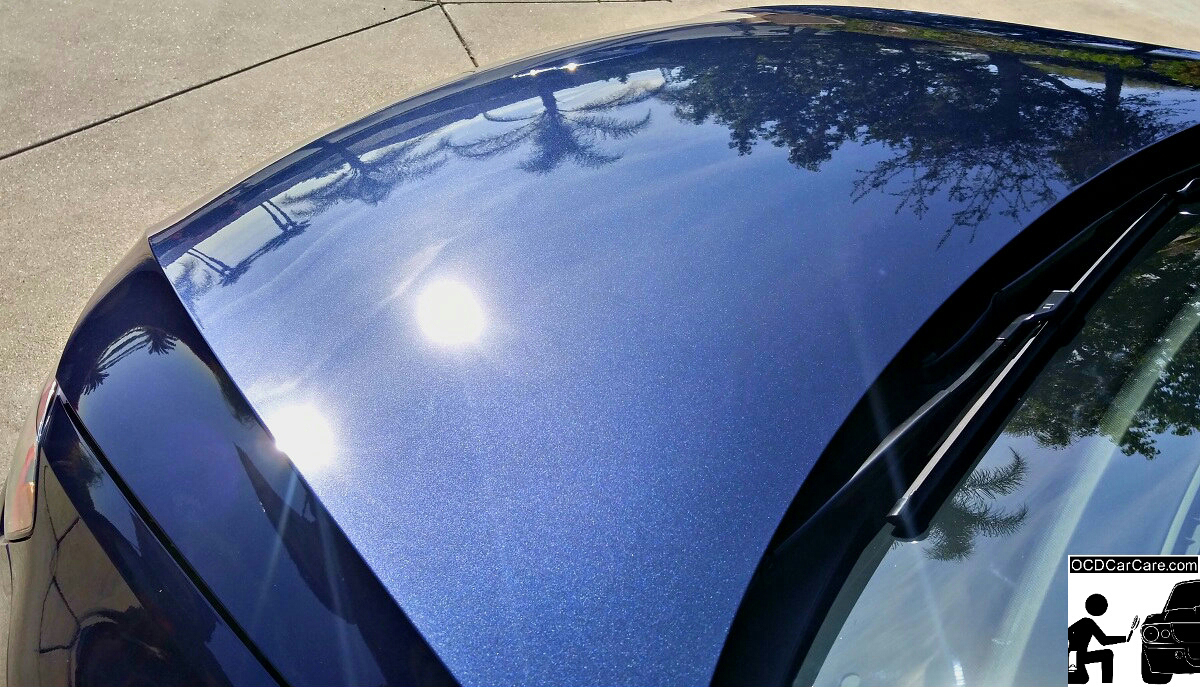 Sun shows off OCDCarCare Los Angeles Paint Correction on this beautiful 2016 VW GTI.