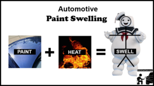Learn How Heat from Paint Swelling Hide Defects during Paint Correction from OCDCarCare Los Angeles Detailing Training Courses.