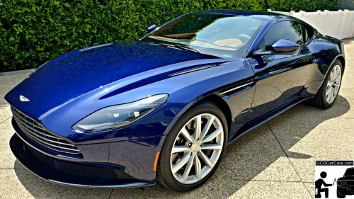 This Aston Martin DB11 was Paint Corrected and Ceramic Coated from skills learned at OCDCarCare Los Angeles Detailing Training Courses.